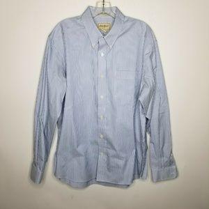 Eddie Bauer Button Down Shirt Wrinkle Resistant